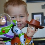 Jax, Buzz and Woody