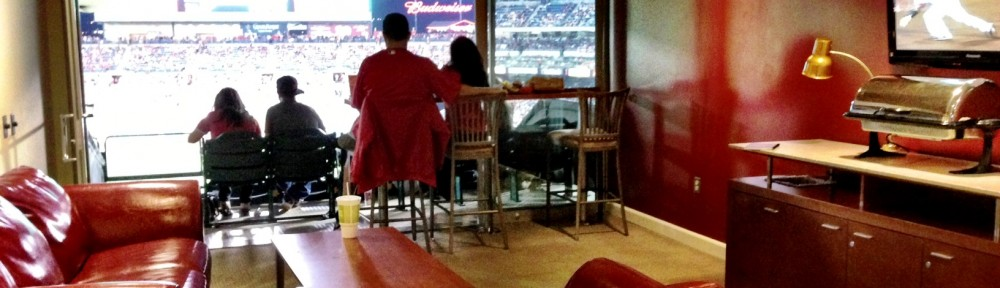 Angels Stadium suite