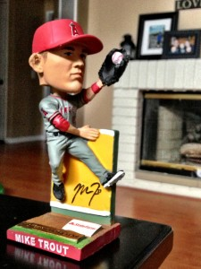 Mike Trout bobble head.