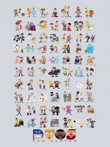 All 69 DUOS, by Sam Carter