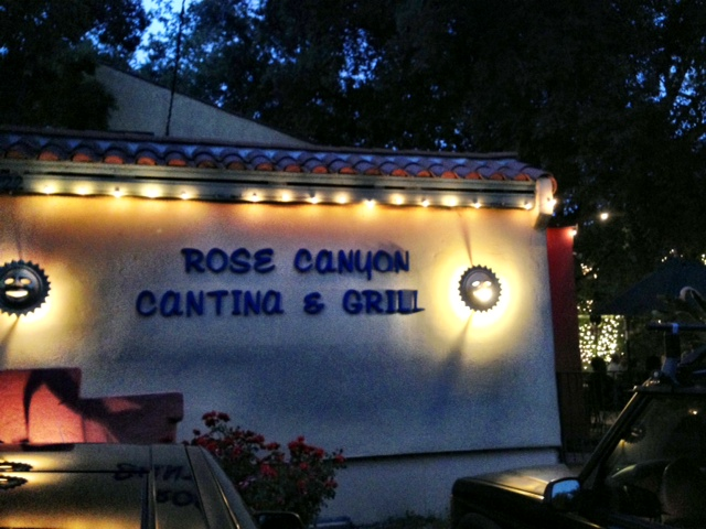 Rose Canyon Cantina & Grill in Trabuco Canyon.
