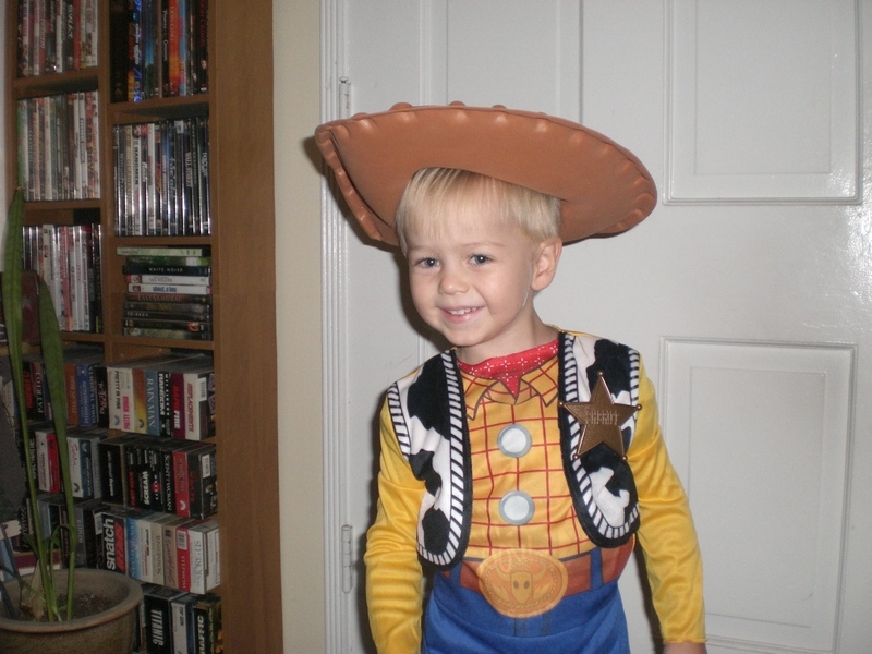 Jax as Woody.